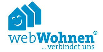 Logo zu webWohnen - Gestaltungsarbeiten für Wohnbau Detmold von unlimited communications, Berlin