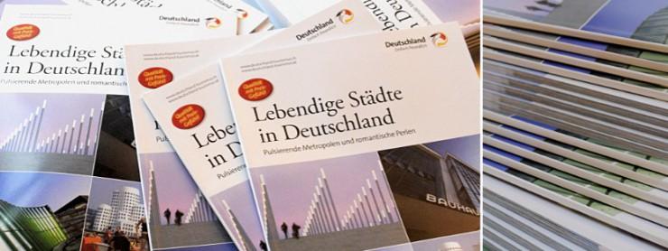 DZT-Broschüre Lebendige Städte in Deutschland