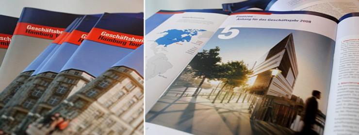 Neugestaltung Hamburg Tourismus Geschäftsbericht