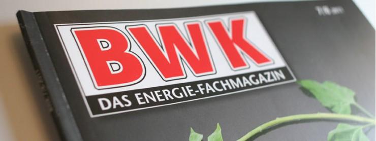 Bildauschnitt BWK - das Energie-Fachmagazin