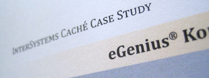 intersystems case study egenius B2B-Marketing-Beratung