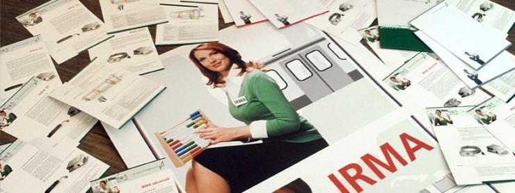 Bildzusammenstellung Corporate Design für iris, Berlin