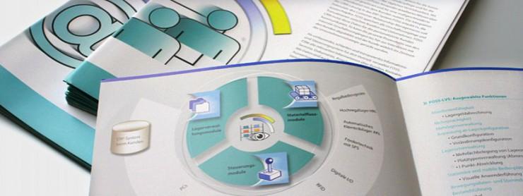 Bildgestaltung in Ordat-Broschüre FOSS-Übersicht