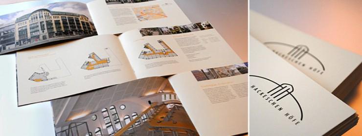 Gestaltung Immobilien-Exposé für pentanex, Berlin