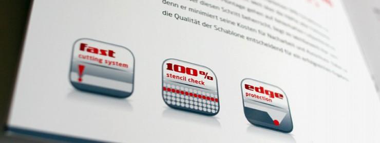 Gestaltung von Icons für photocad, Berlin