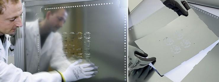 Abbildung Schablone für Leiterplatten bei photocad