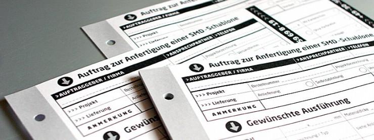 Formulargestaltung für photocad, Berlin