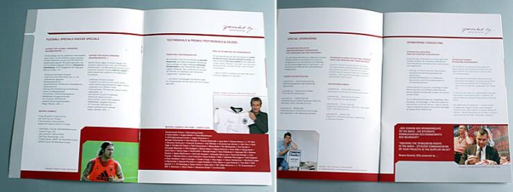 Innenansicht Broschüre fürpresented by, Berlin