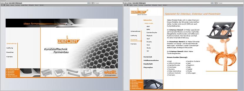Weber-Webdesign