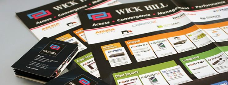 Poster-Gestaltung für Wick Hill
