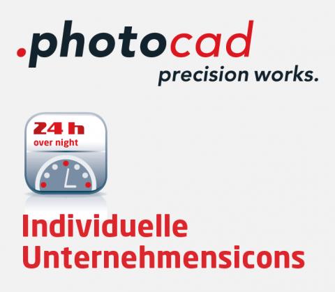 Gestaltung Icons für photocad, Berlin
