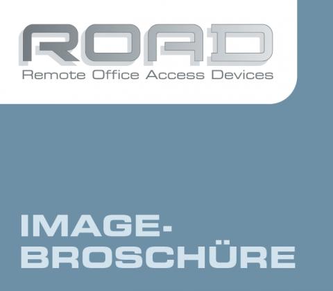 Gestaltung Imagebroschüre für ROAD, Berlin