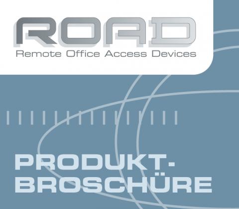Gestaltung Produktbroschüre für ROAD, Berlin