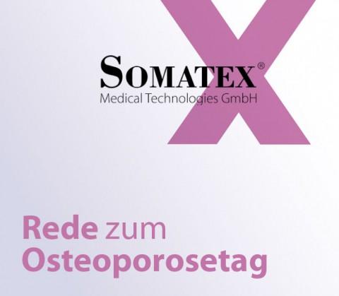 Artikelbild Somatex anlässlich der Rede zum Osteoporosetag