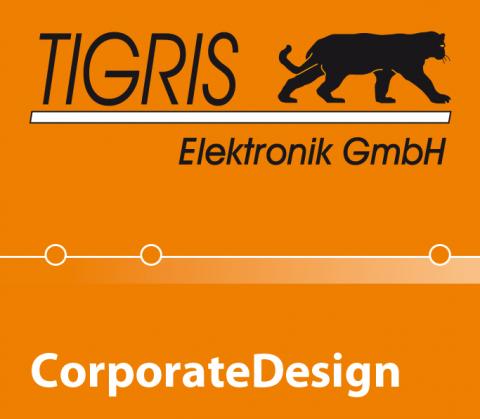 Bildanmutung Corporate Design für TGIGRIS Elektronik, Berlin