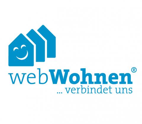 Logo von webWohnen Detmold, unlimited communications berlin