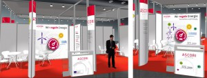 Messestand Ascori Hannover Messe