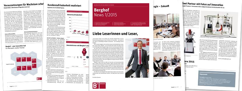 Corporate Publishing berghof Texterstellung & Content Creation für B2B