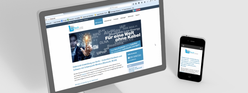 lintech website relaunch B2B-Online-Marketing & Webdesign