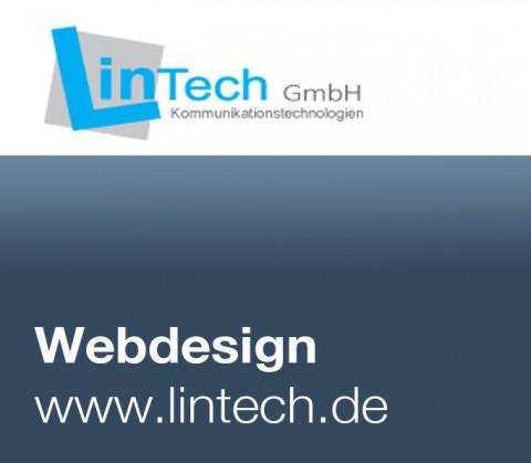 Webdesign für LinTech, Berlin