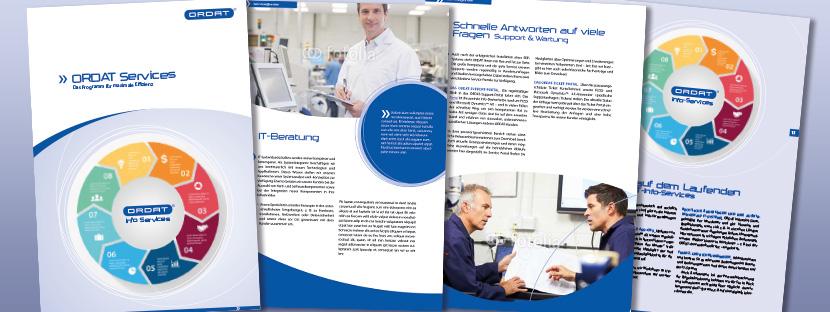 ORDAT: Services-Broschüre