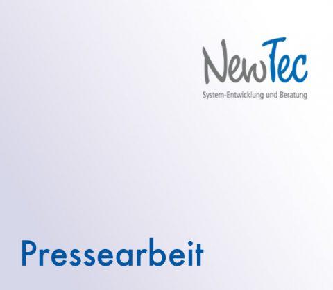 Thumbnail Pressearbeit für NewTec, Pfaffenhofen a. d. Roth
