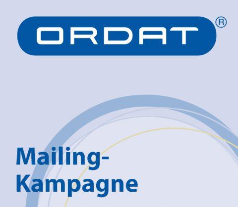 Mailing-Kampagne (Thumbnail) für Ordat, Gießen