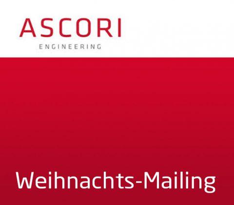 Gestaltung Weihnachtsmailing (Thrumbnail) für Ascori Engineering, Cottbus