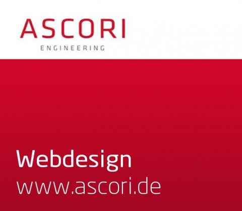 Webdesign (Thrumbnail) für Ascori Engineering, Cottbus