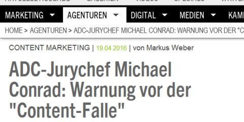 Content Falle