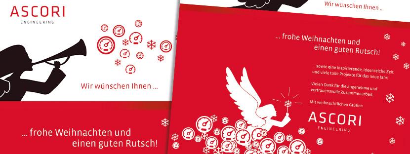 Weihnachtsmailing per E-Mail von ASCORI