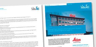 Motiv NewTec-Broschüre