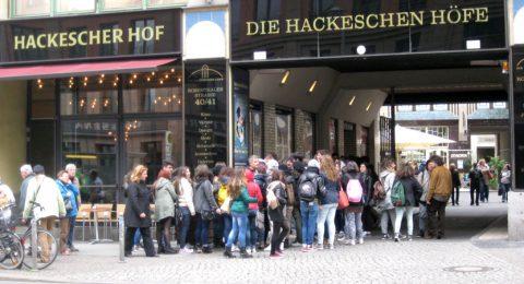 Die Hackeschen Höfe in Berlin - Unternehmensstandort von unlimited communications seit 1996 mit seinen weltbesten Textern