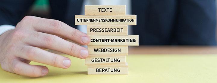 Auf einen Blick – unlimited communications, Content-Marketing-Agentur Berlin