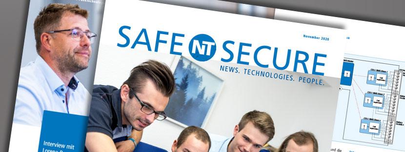 Redaktion und Texte für die SafeNTSecure, NewTec neue Kundenzeitschrift