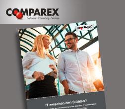 """Text für Whitepaper """"IT zwischen den Stühlen"""", Comparex, unlimited communications, Content-Marketing Agentur"""