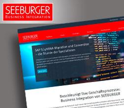 Webtexte für die SEEBURGER AG, Bretten